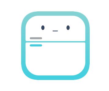 エフコープ生協の冷蔵庫アプリ<br>『コープのれいちゃん』