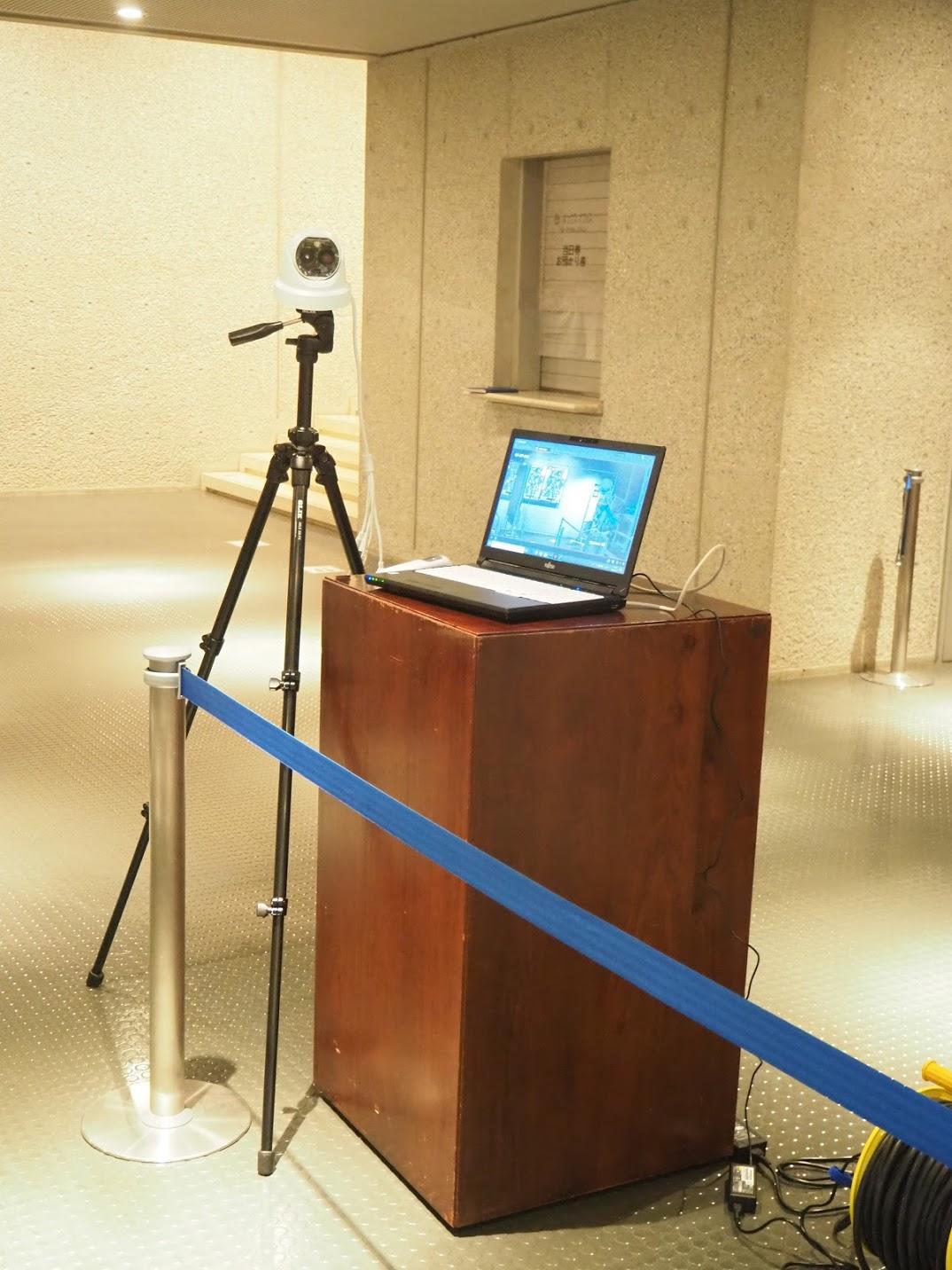 新国立劇場様、サーマルカメラで来場者の検温効率化