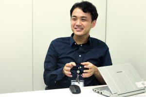 メディア運営統括部 情報システム部  釼先 修平さん