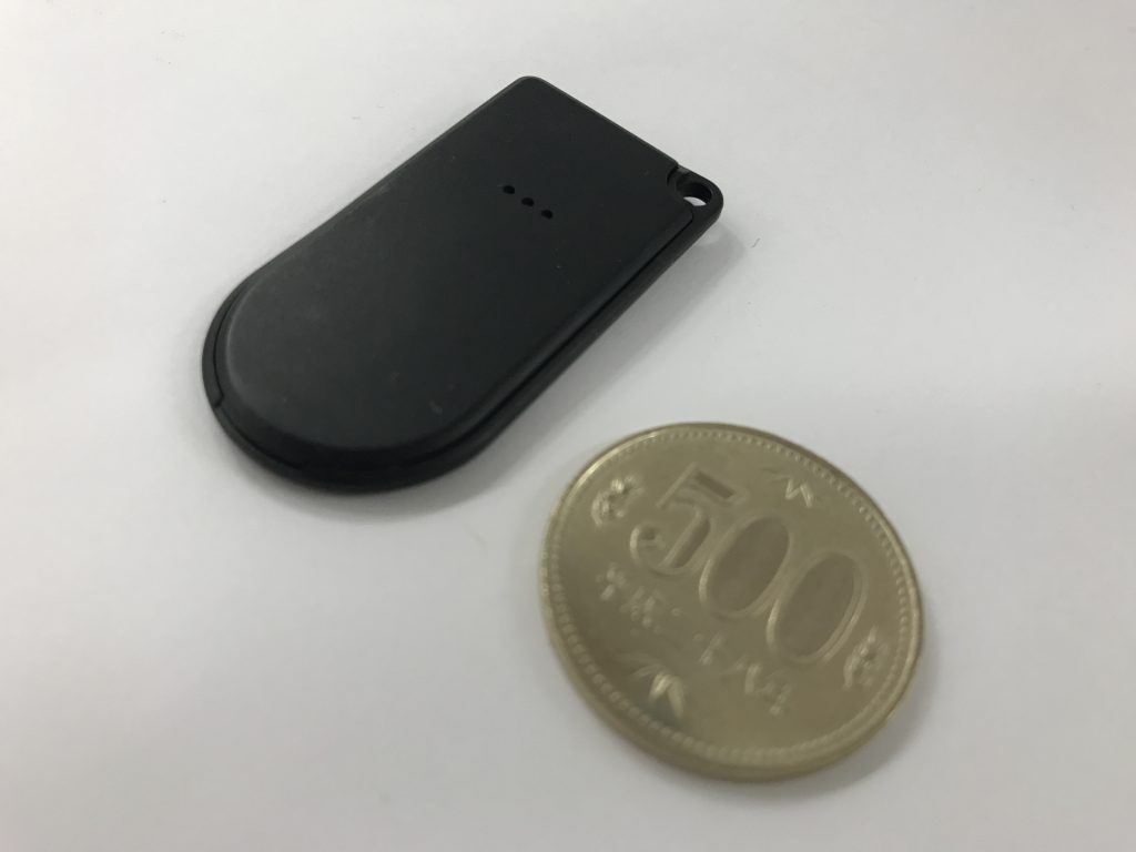 FCS1301と500円玉の比較画像2